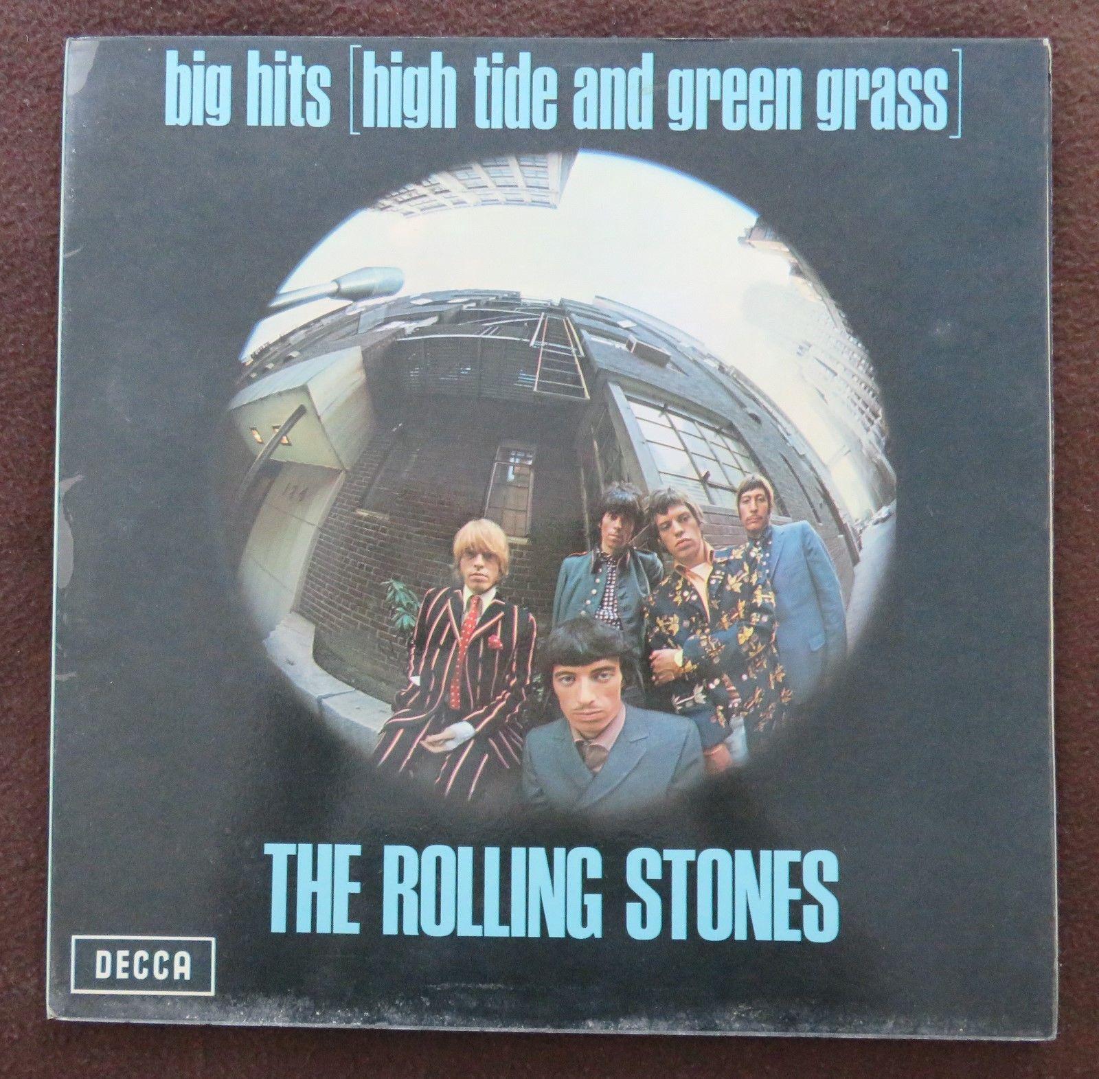 Rolling Stones LP Big Hits High Tide And Green Grass 1966 Decca TXS 101 Mint