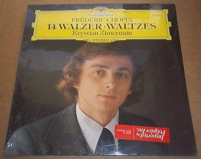 Krystian Zimerman - CHOPIN: 14 Waltzes - DG 2530 965 SEALED