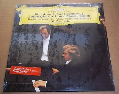 Krystian Zimerman/Giulini CHOPIN Piano Concerto No.2 - DG 2531 126 SEALED