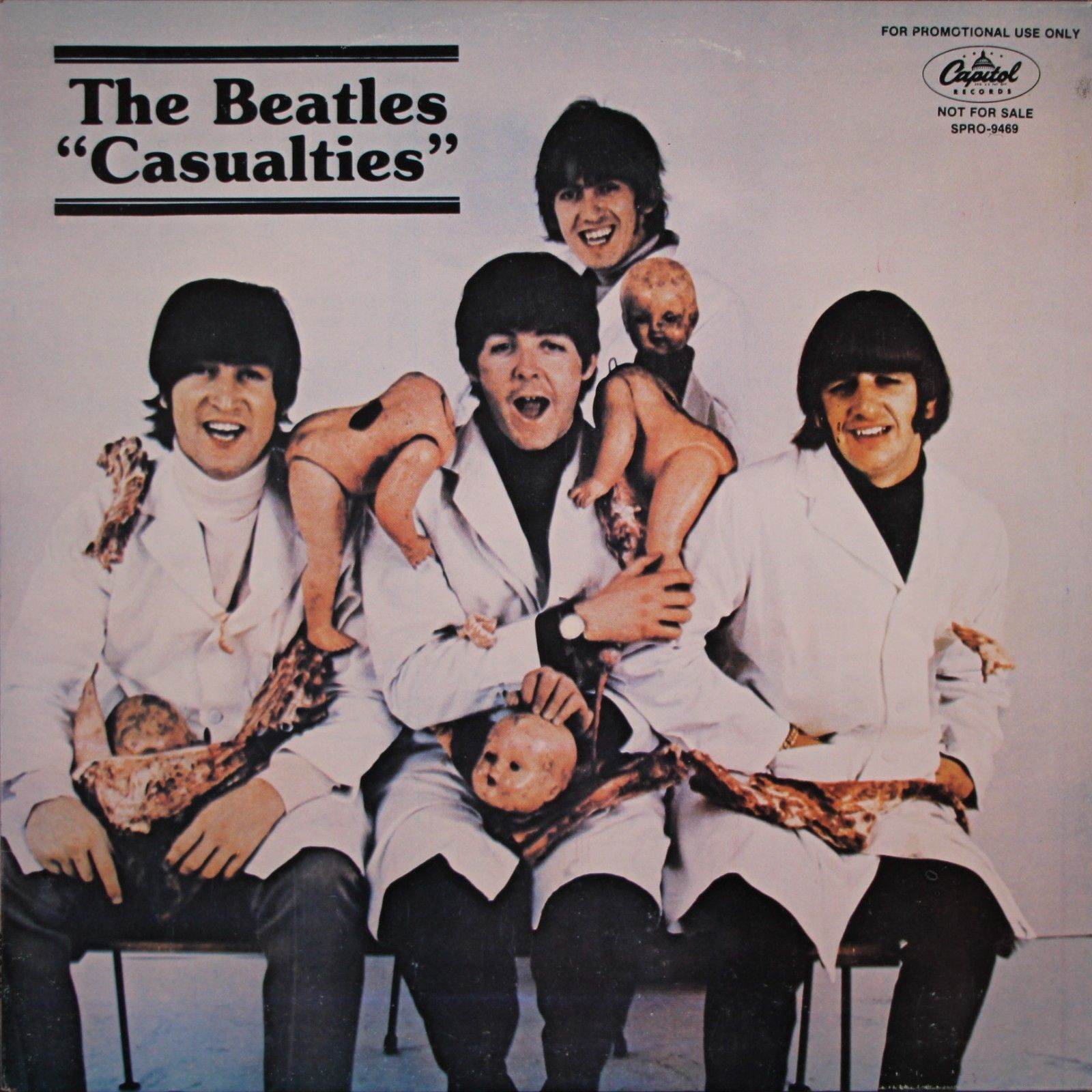 The Beatles Casualties LP Capitol SPRO 9469 #6 OF  50