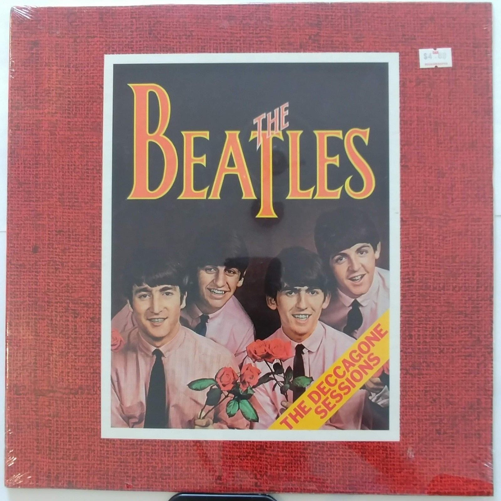 THE BEATLES LP (The Deccagone Sessions) RARE STILL SEALED NM bootleg