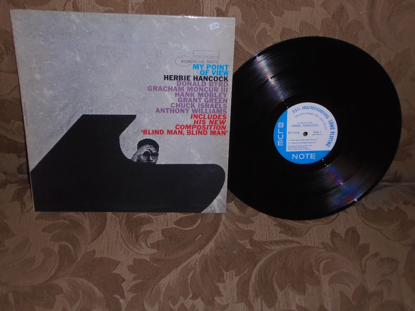 Herbie Hancock My Point of View Blue Note 4126 mono org Grant Green Hank Mobley