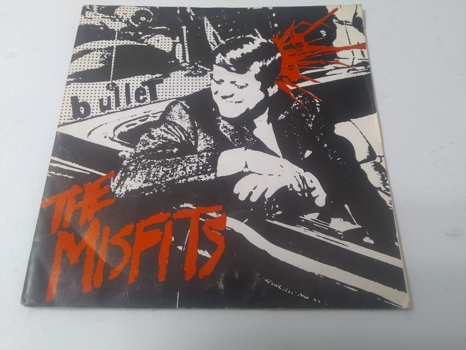 The Misfits-Bullet 7' Red Vinyl EP