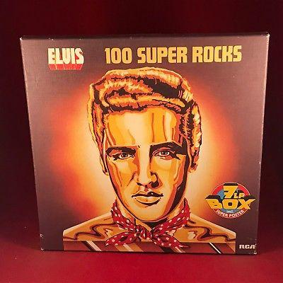 ELVIS PRESLEY 100 Super Rocks 1977  7 X Vinyl LP BOX SET EXCELLENT CONDITION