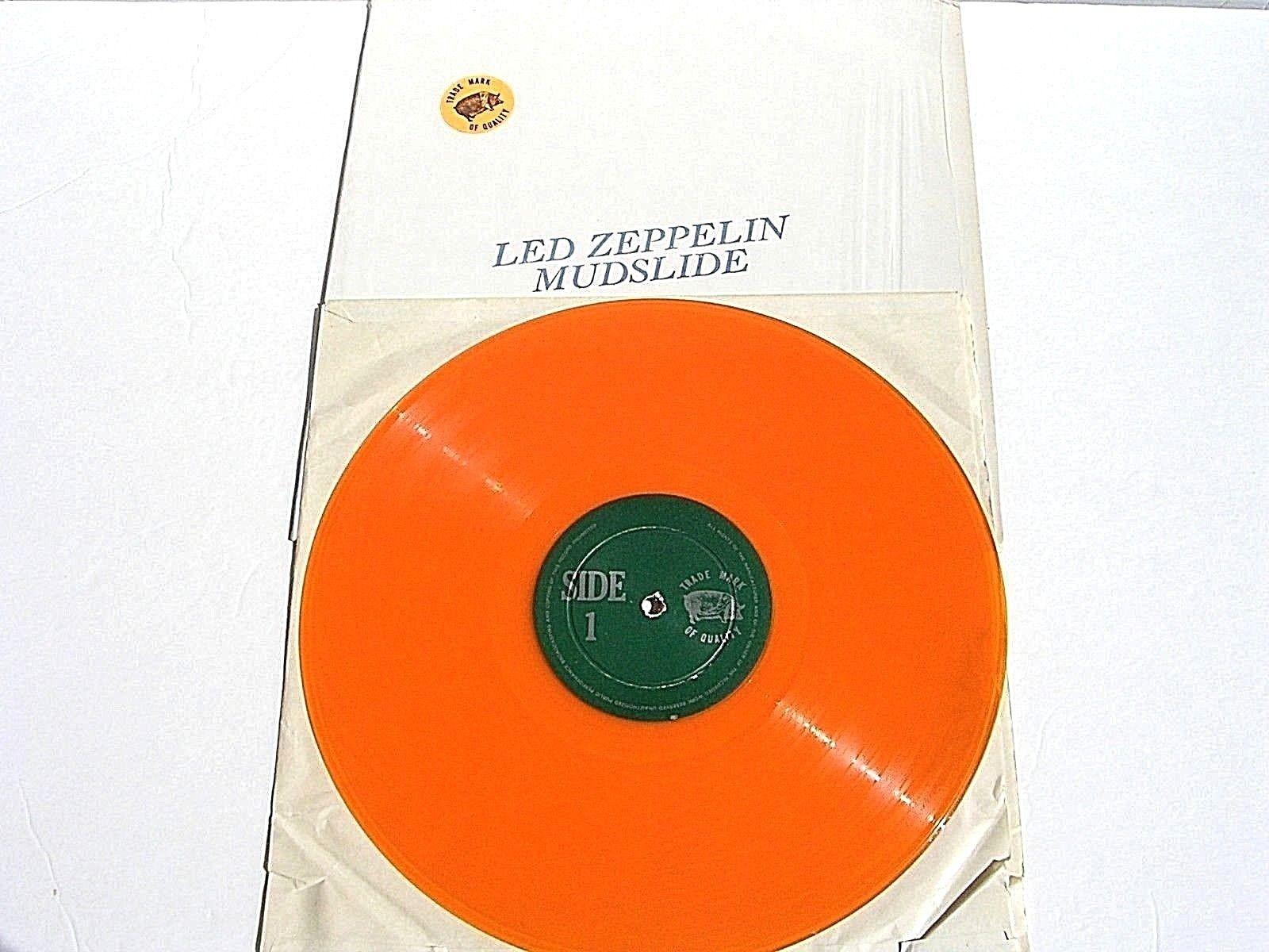 Led Zeppelin Mudslide LP TMOQ VANCOUVER 1970Trade Mark Of Quality Colored Vinyl