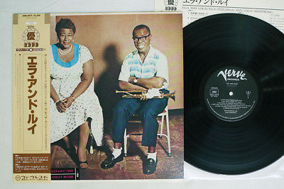 ELLA FITZGERALD,LOUIS ARMSTRONG ELLA & LOUIS VERVE 20MJ 0079 Japan OBI VINYL LP