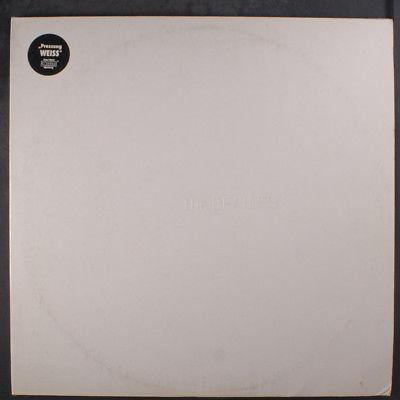 BEATLES: The Beatles (white Album) LP (Germany, 80s re, 2 LPs, white vinyl disc