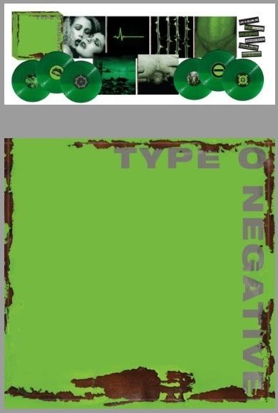 Type O Negative - None More Negative - green vinyl box set - limited to 1000 OOP