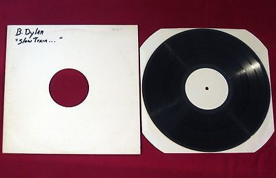 Bob Dylan Slow Train Coming Rare 1979 White Label Test Pressing Promo LP