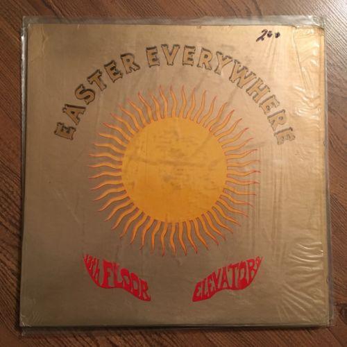 13TH FLOOR ELEVATORS - Easter Everywhere US MONO PROMO NM SHRINK Posturos Psych