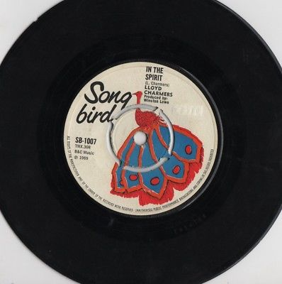 "LLOYD CHARMERS - IN THE SPIRIT 1969 SONG BIRD 7"" 45 EX+"