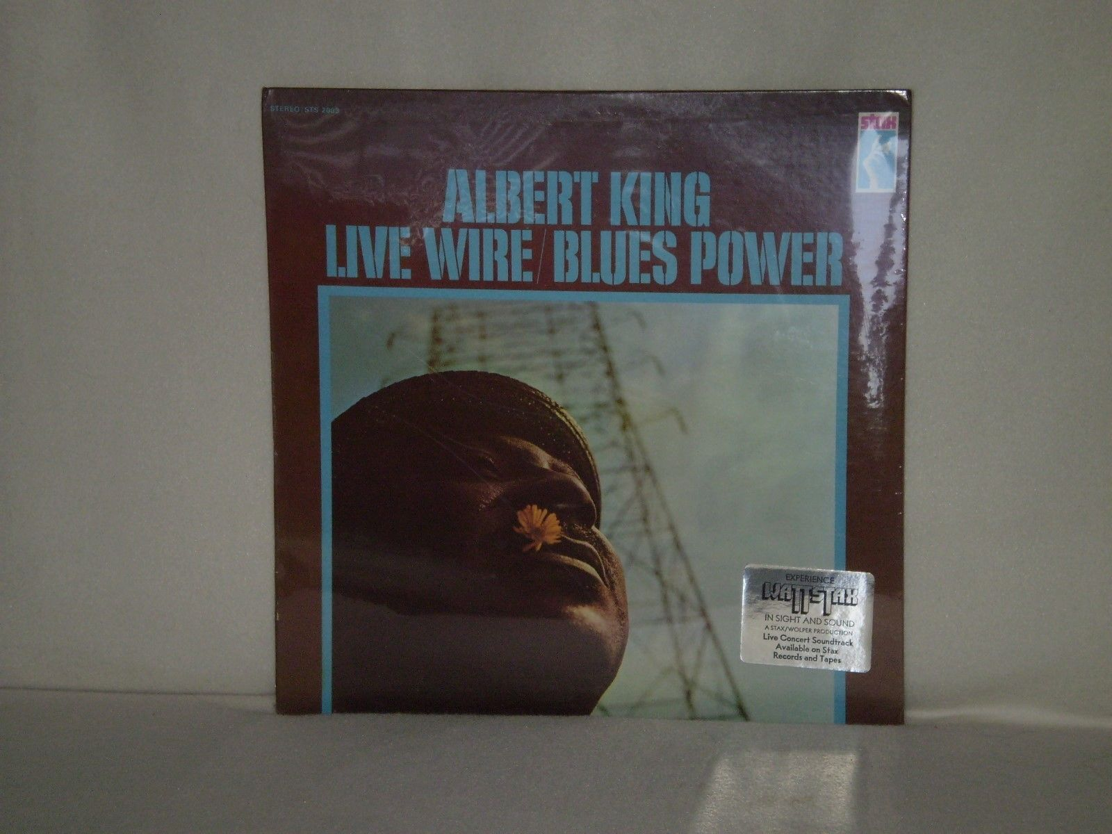 Albert King  -  Live Wire / Blues Power         US ORIGINAL PRESS - SEALED