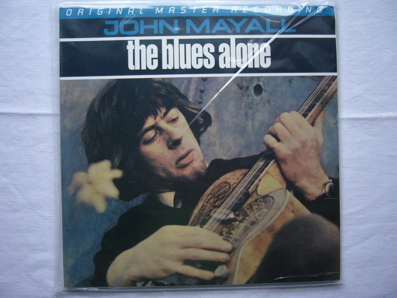 JOHN MAYALL THE BLUES ALONE MFSL MASTER RECORDING NEW SEALED FREE SHIPPING WORLD