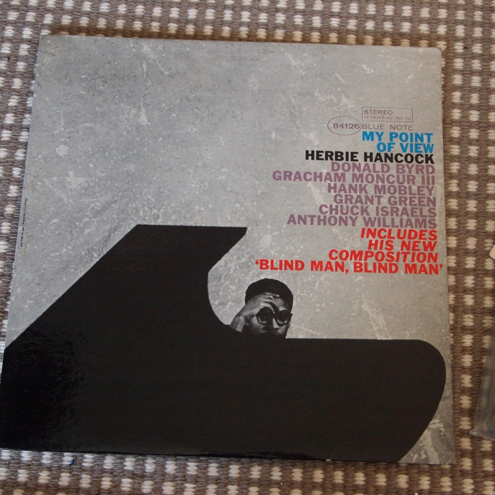 HERBIE HANCOCK MY POINT OF VIEW BLUE NOTE LP BST 84126 DG VAN GELDER EAR NY NM