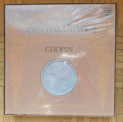 B544 SEALED HARASIEWICZ CHOPIN COMPLETE PIANO WORKS 14 x LP PHILIPS STEREO