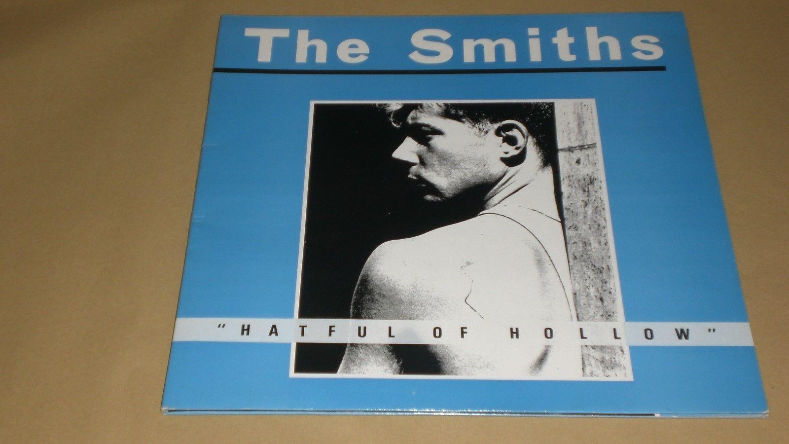 THE SMITHS -HATEFUL OF HOLLOW -VINYL ALBUM -1984 -MATX A1/B3 -ROUGH 76 -V. GOOD