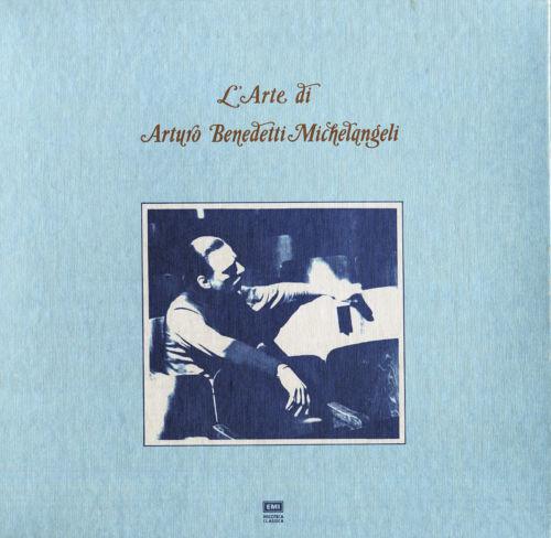 3LP Box L'Arte di BENEDETTI-MICHELANGELI Piano BACH BRAHMS CHOPIN C153-50104 NM