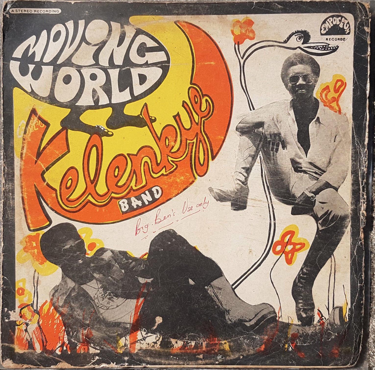 THE KELENKYE BAND Moving World Invisible AFROFUNK PSYCH GHANA OG LISTEN
