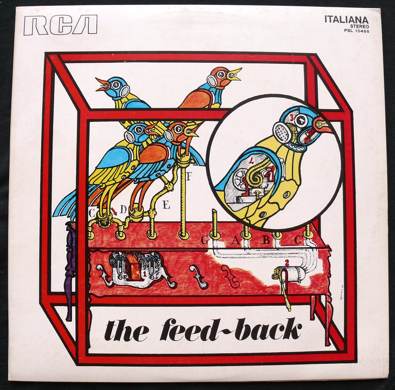 #The Feed-Back RCA original 1st ed TOP copy Morricone Nuova Consonanza LISTEN#