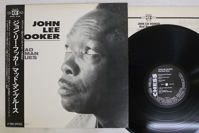 JOHN LEE HOOKER MAD MAN BLUES P-VINE/CHESS PLP-837 Japan OBI VINYL LP