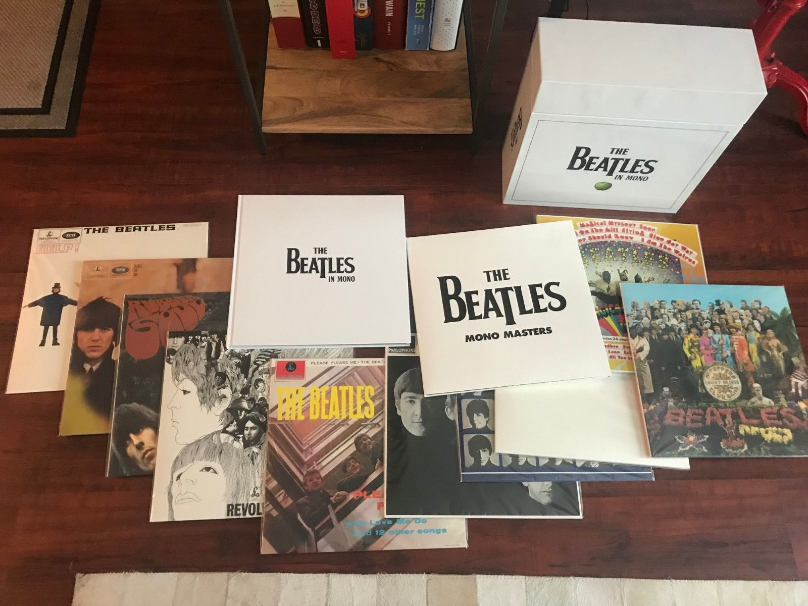 The Beatles in Mono [Vinyl Box Set w/ book] records excellent condition boxset