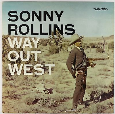 Sonny Rollins - Way Out West LP - Contemporary - S7530 VG+