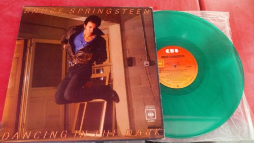 BRUCE SPRINGSTEEN DANCING IN THE DARK RARE MEXICAN 12 TOURQUOISE VINYL MEXICO