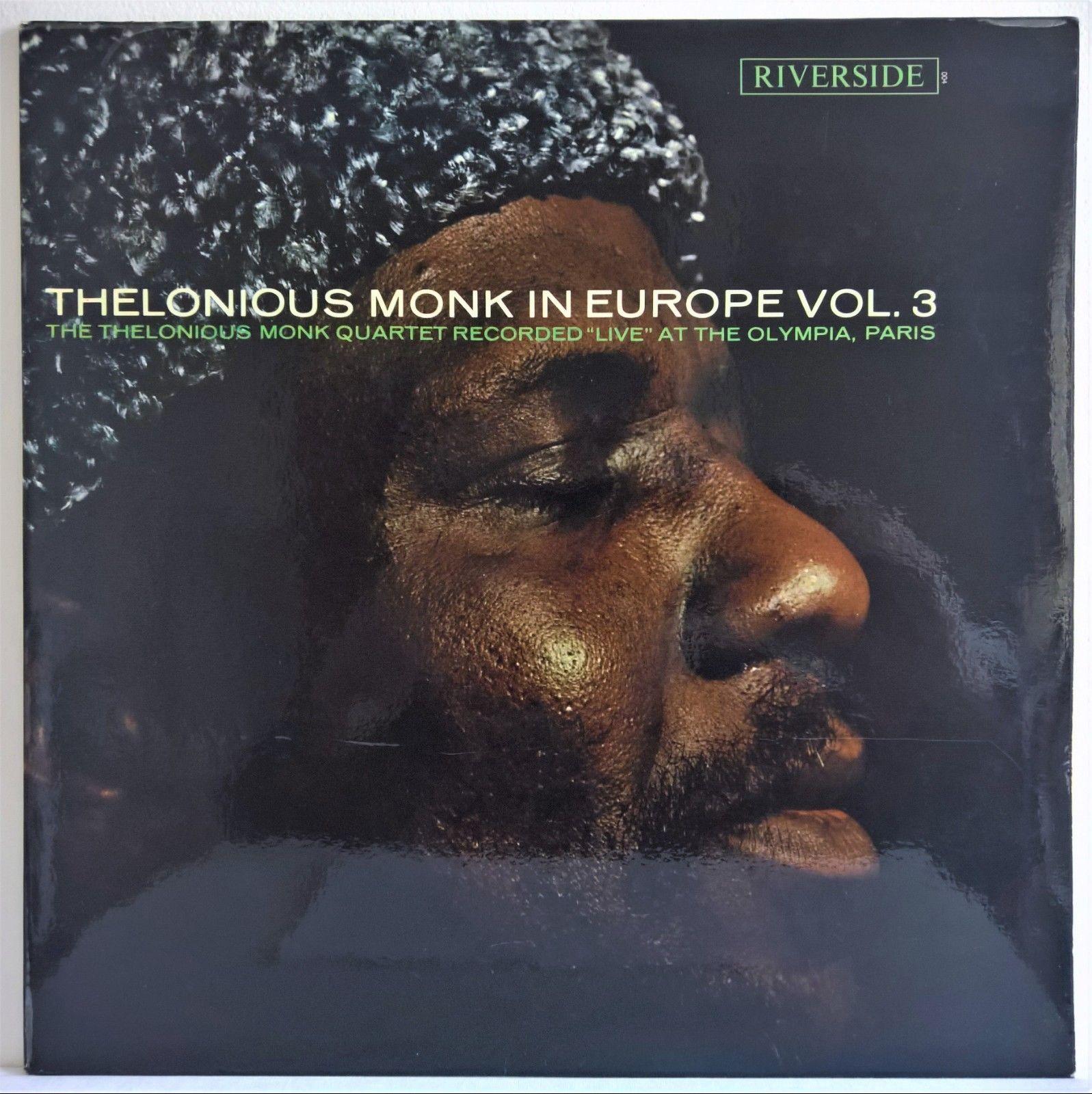 Thelonious Monk - In Europe vol. 3 – Riverside – Original France – MINT