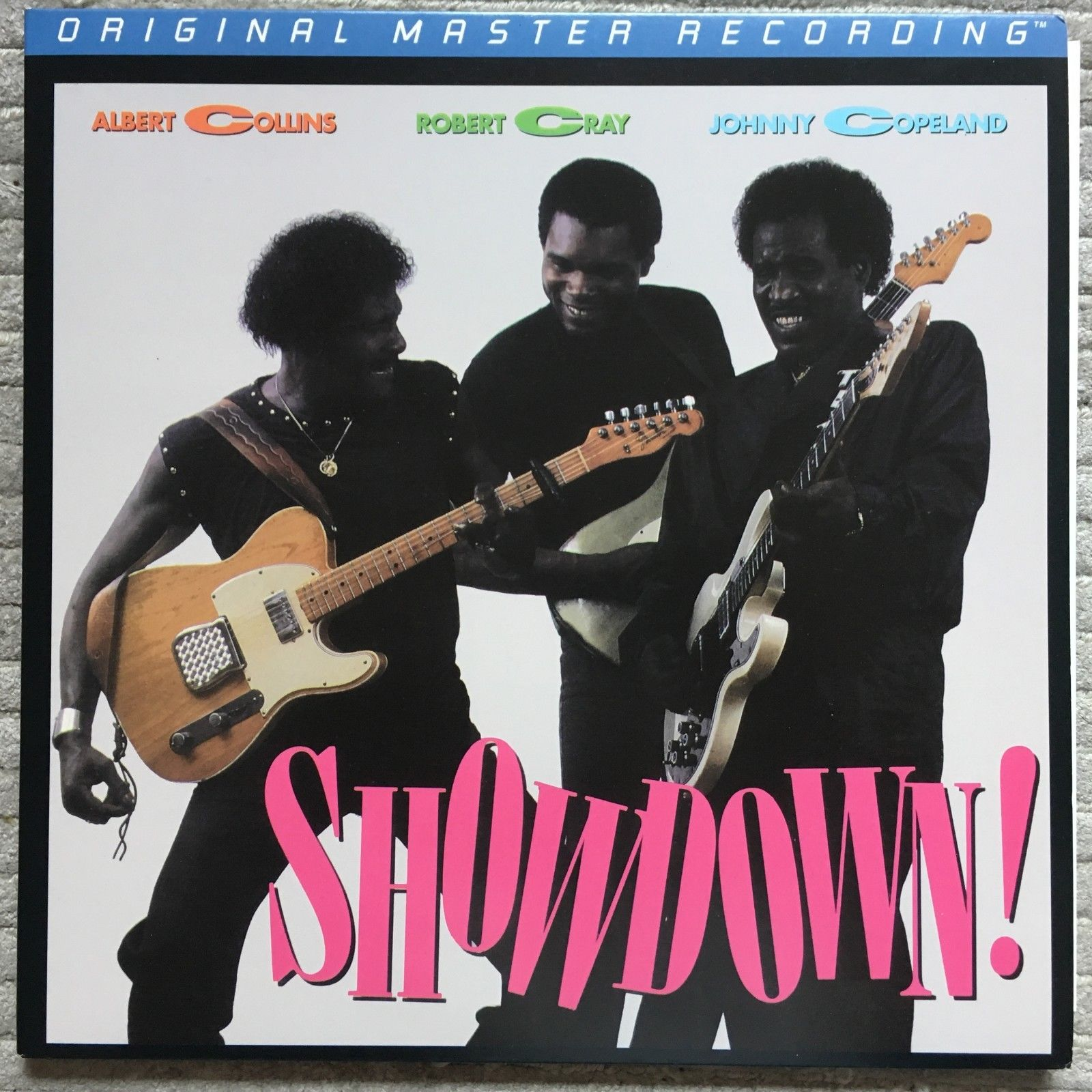 Albert Collins Robert Cray Johnny Copeland ?– Showdown  MFSL 1-217 M ANADISQ 200