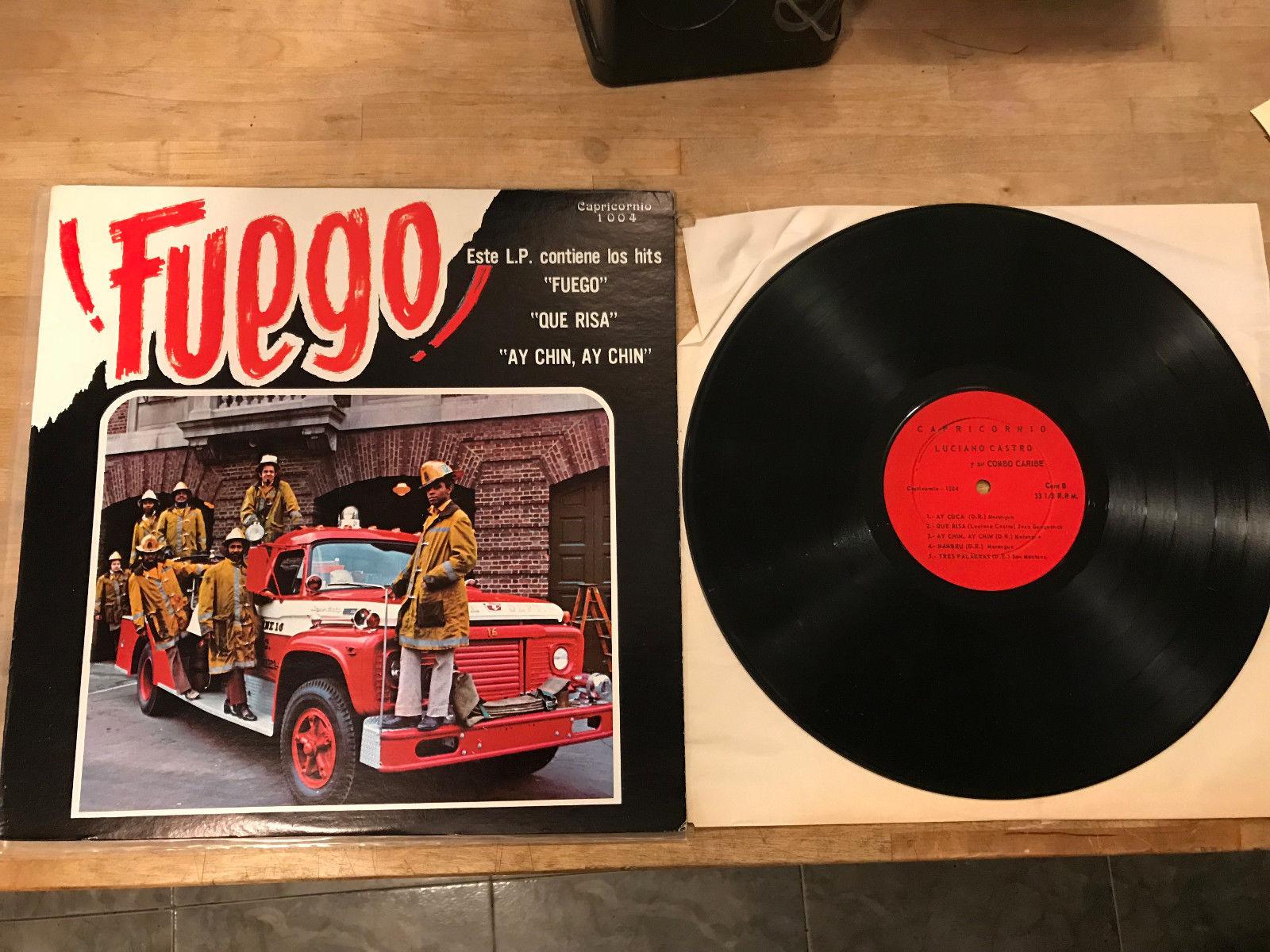 Luciano Castro y Su Combo Fuego Vinyl LP Salsa Capricornio NM/EX