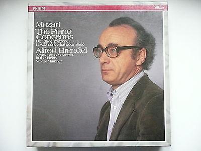 BRENDEL PLAYS MOZART 23 PIANO CONCERTOs ASMF MARRINER PHILIPS 418 856 DIGITAL