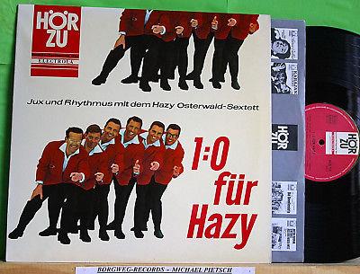 Hazy Osterwald - 1:0 für Hazy - orig. 1964 DE HÖR ZU HZE 112  LP m-/vg+