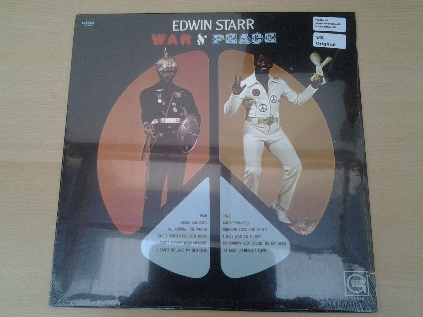 Edwin Starr - War And Peace -// BRANDNEU ORIGINALVERSIEGELT / / US ORIGINAL //