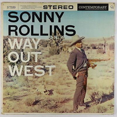 Sonny Rollins - Way Out West LP - Contemporary - S7530 DG