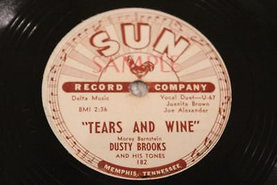 popsike com - SUN 182 DUSTY BROOKS & TONES Tears & Wine