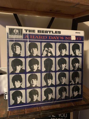 Beatles - A Hard Days Night Stereo UK Parlophone SEALED NEVER OPENED  PCS-3058