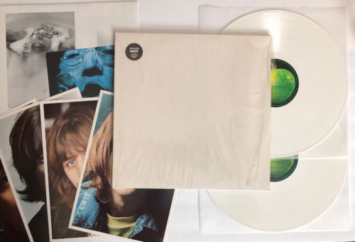 The Beatles - White Album - 1985 Germany DMM Numbered On White Color Vinyl (NM)