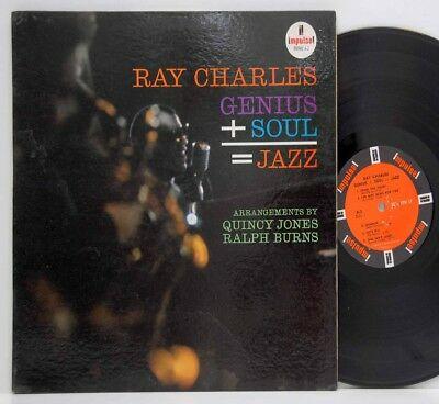 Ray Charles        Genius + Soul = Jazz        Impulse       NM  # 1
