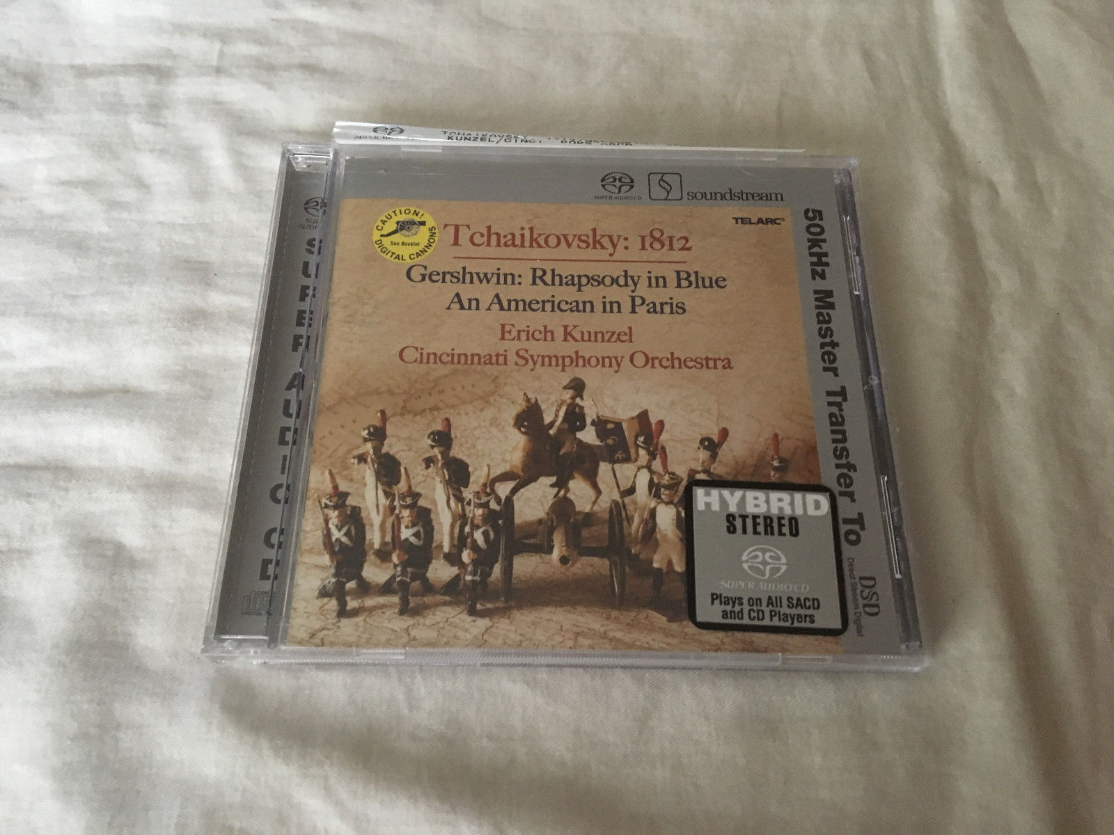 Tchaikovsky: 1812; Gershwin: Rhapsody in Blue; An American in Paris Super...