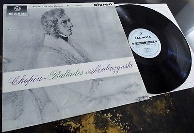 Chopin: The Four Ballades - Malcuzynski **Columbia SAX 2509 ED1 LP**
