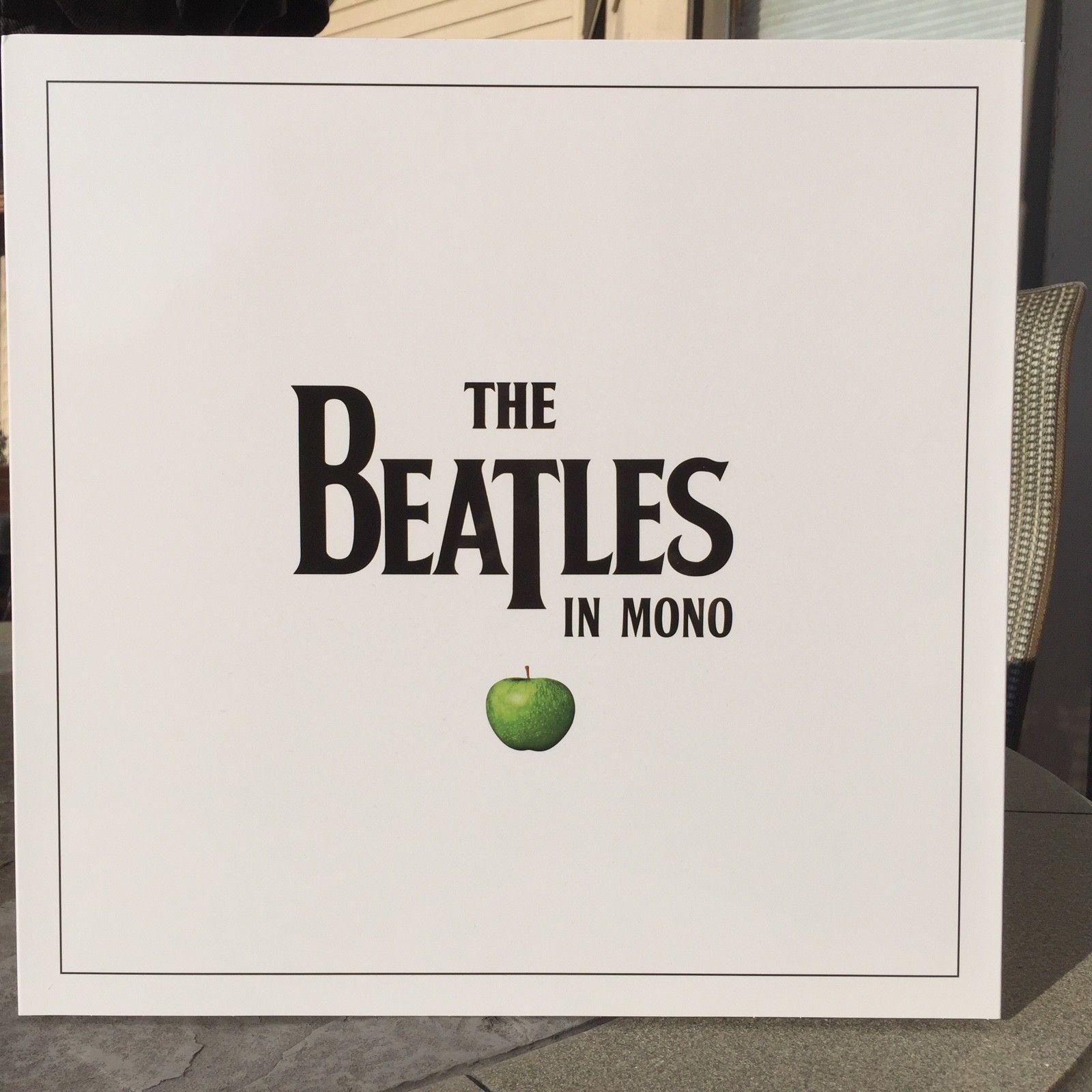 THE BEATLES IN MONO SEALED 14 180G VINYL LP + BOOK BOX SET