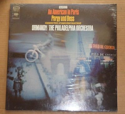 Ormandy GERSHWIN An American in Paris, Porgy and Bess - Columbia MS 7258 SEALED