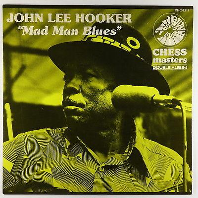 John Lee Hooker - Mad Man Blues 2xLP - Chess VG+