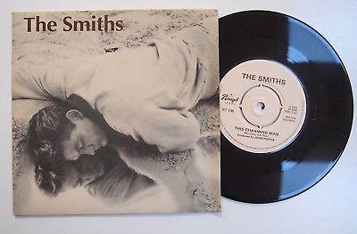 "THE SMITHS - THIS CHARMING MAN 7"" VINYL Rare UK 1st Press 1983 Original Single"