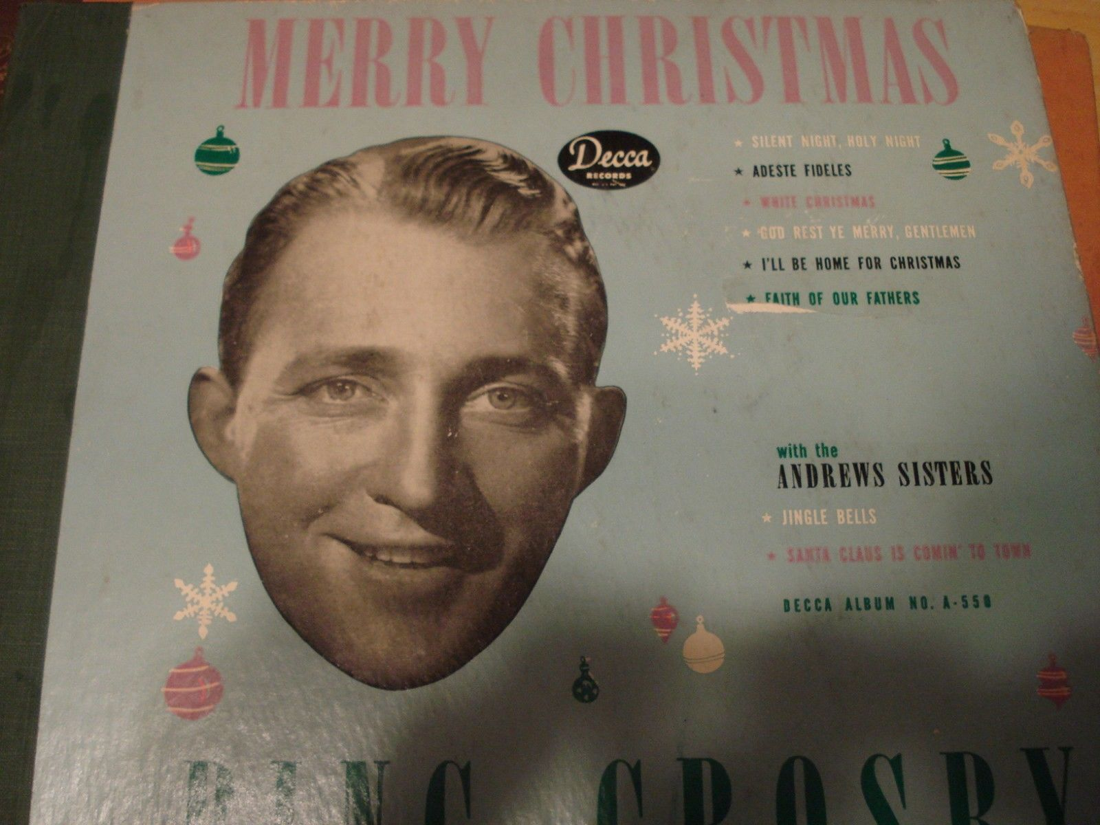 BING CROSBY-Merry Christmas-DECCA