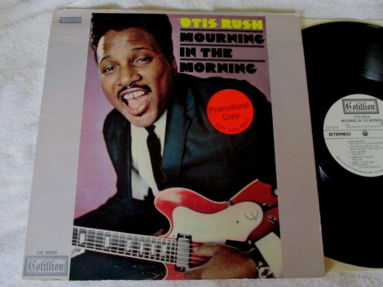 "OTIS RUSH ""MOURNING IN THE MORNING"" '69 COTILLION WLP PROMO BLUES LP *VINYL VG++"