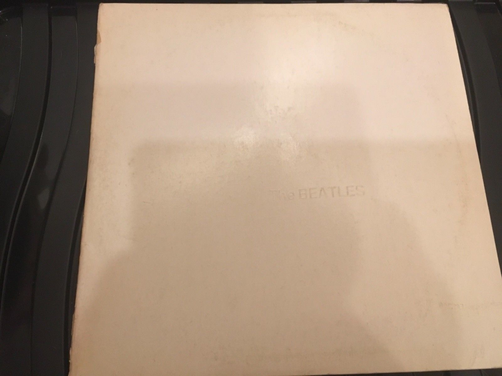 THE BEATLES White Album 2LP Gatefold Sleeve with Poster & 4 Pics Made in Holland