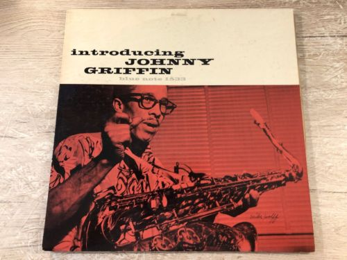 Introducing Johnny Griffin Vinyl LP US 1956 RVG 767 Lex Blue Note BLP 1533