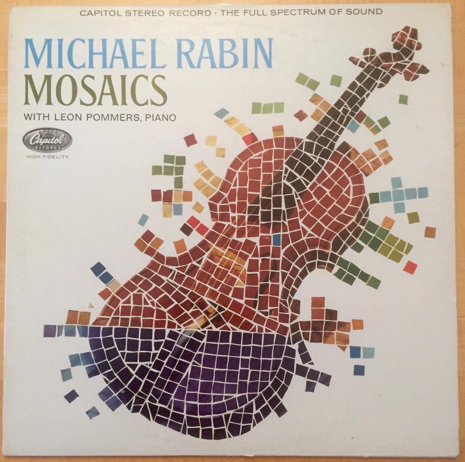Michael Rabin - Mosaics - Capitol UK SP 8506 - near mint