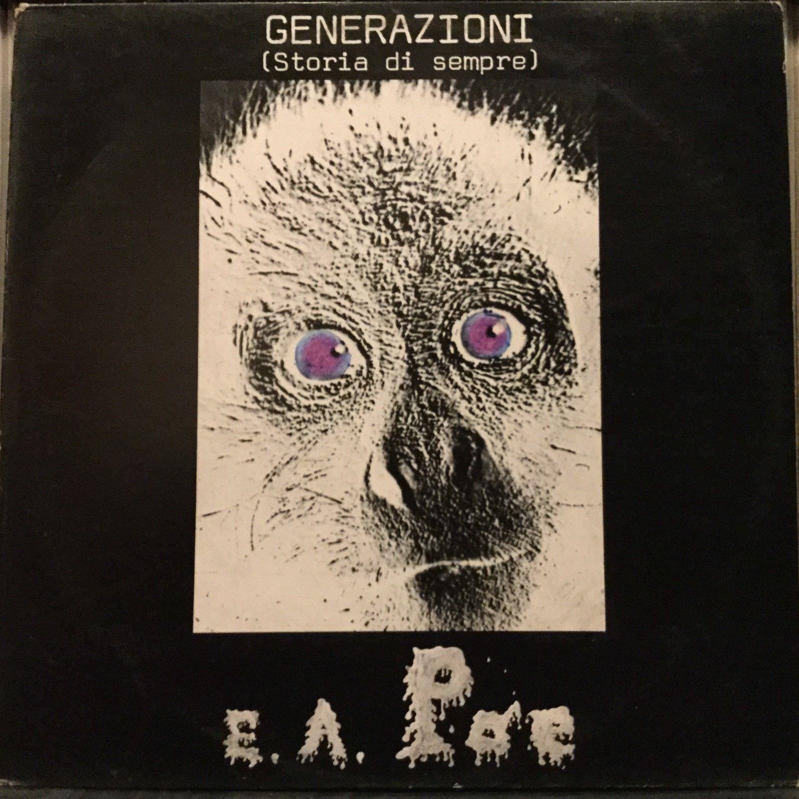 E.A. Poe-Generazioni (Storia Di Sempre)  Italian Progressive/Psych